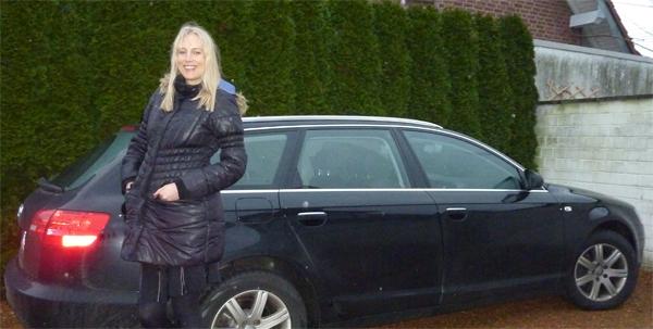 Elischeba vor Audi A6