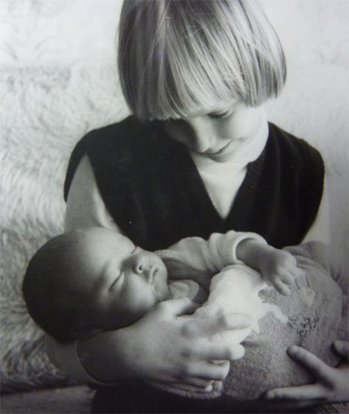 Elischeba mit David 1983