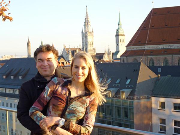 Elischeba und Pierre Wilde in München 2011