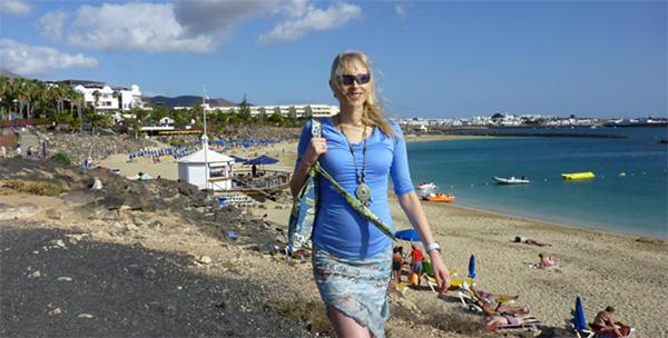 Elischeba auf Lanzarote Tag 1