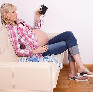 Elischeba in der 38 Schwangerschaftswoche