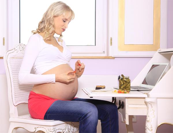 Elischeba schwanger - Gurken und Gummibärchen