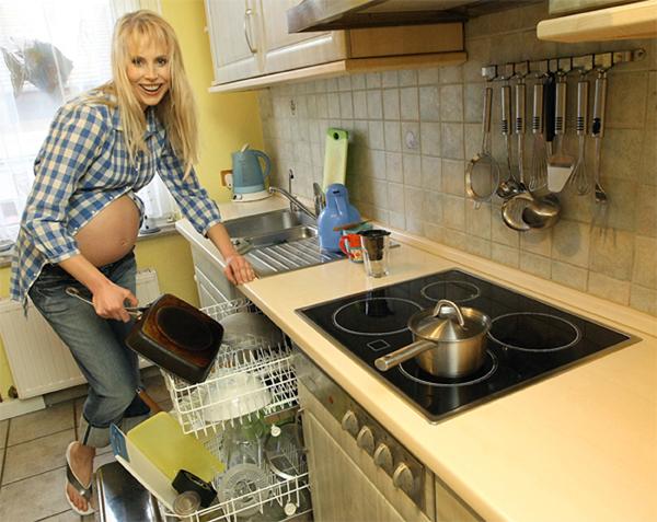 Elischeba Küche Schwangerschaft