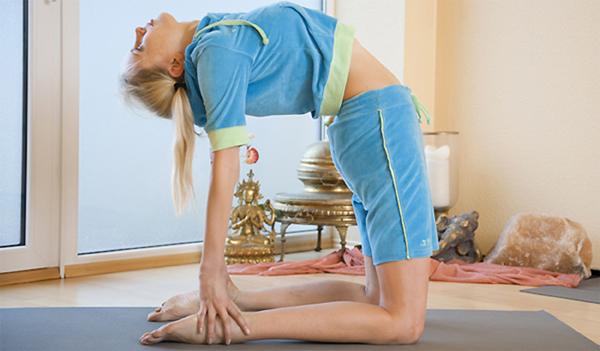 Elischeba Rückwärtsbeuge Yoga