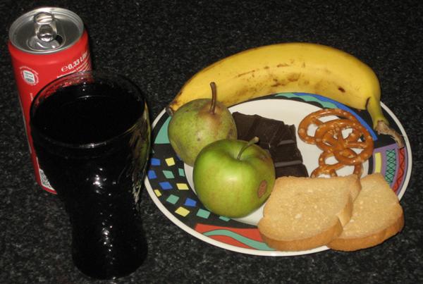Snack bei Durchfall