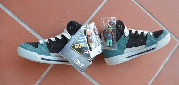 Schuhe gewinnen