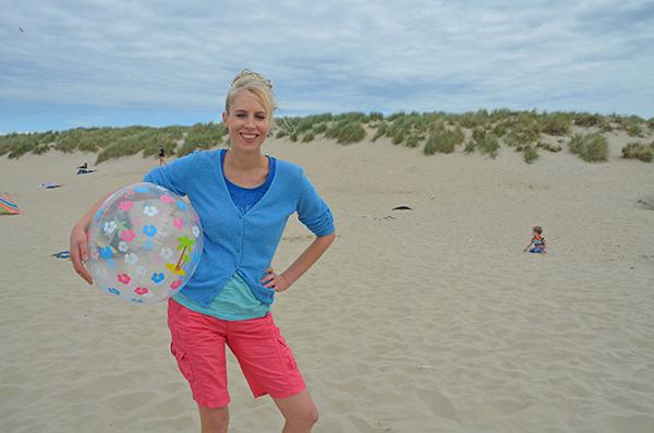 Elischeba mit Wasserball