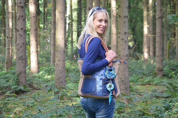 Elischeba Outfit mit Tasche