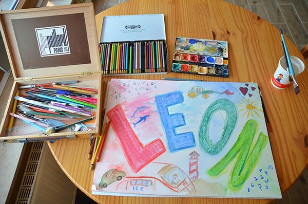 malen mit Leon