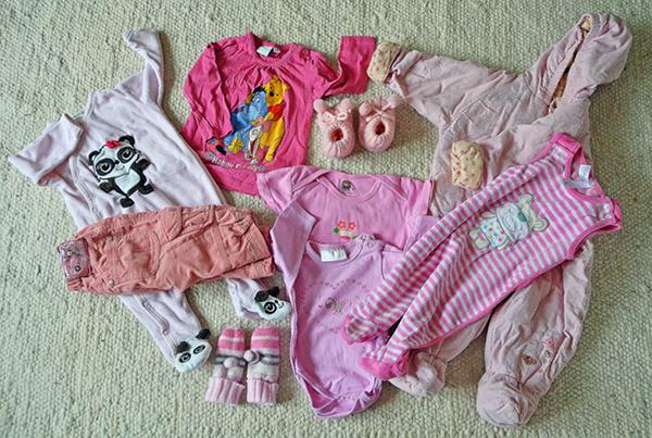 rosa babysachen