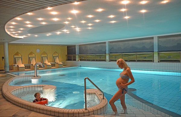 Schwimmbad in den Niederlanden