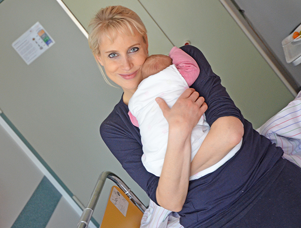 Emily 2015 Geburt