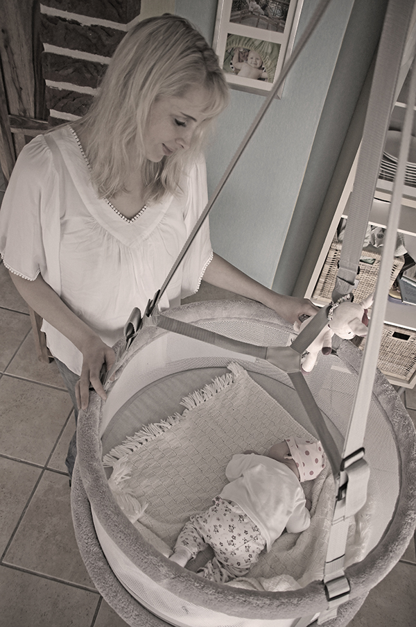 Memola Wiege – ein Traum für Mamas und Babys