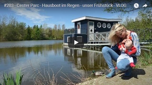 ElischebaTV_203_640x360 Center Parc Bispinger Heide Hausboot im Regen