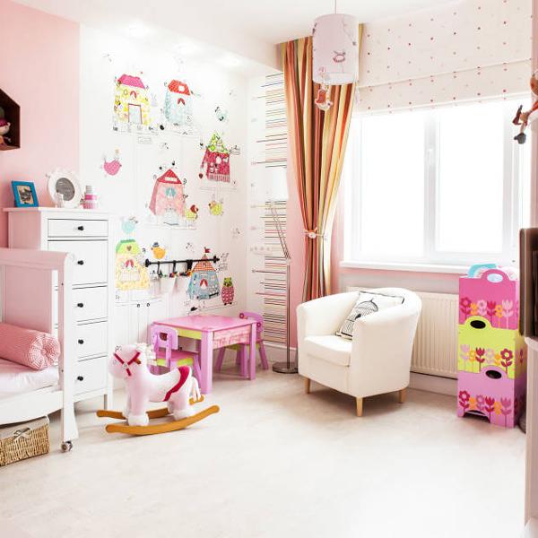 Coole ideen f r stylische kinderzimmer model und mama for Skandinavische kinderzimmer