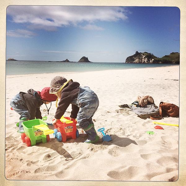 strandkinderspielen