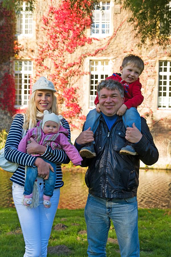 Familie Wilde im Oktober 2015
