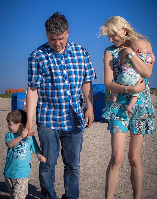 family wilde an der nordsee