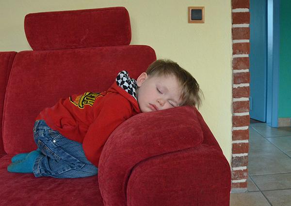 Kleinkind schlafen