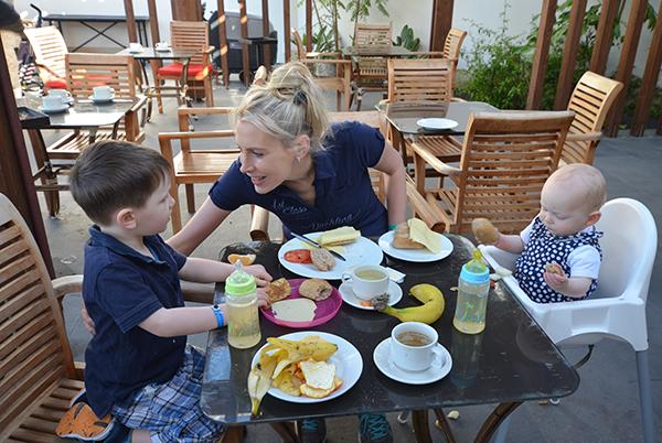 frühstück im origomare