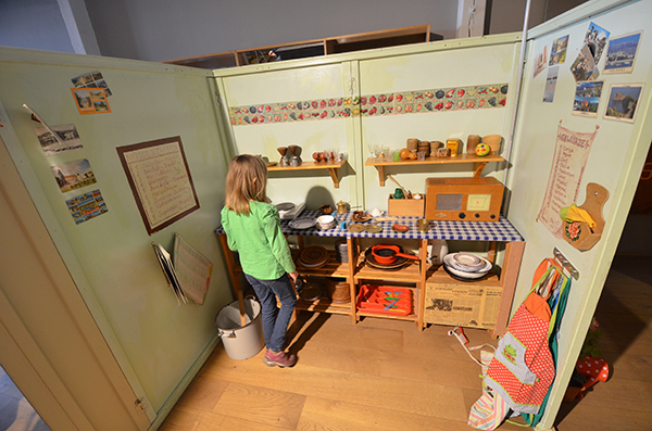Küche im Explorado