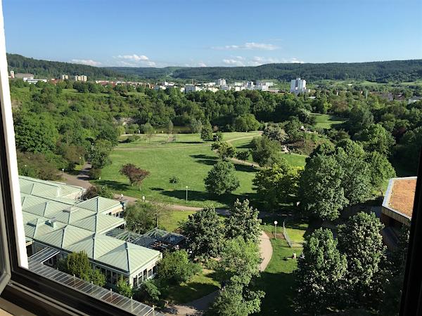 ausblick vom amberhotel leonberg