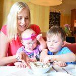 elischeba und kids im amberhotel