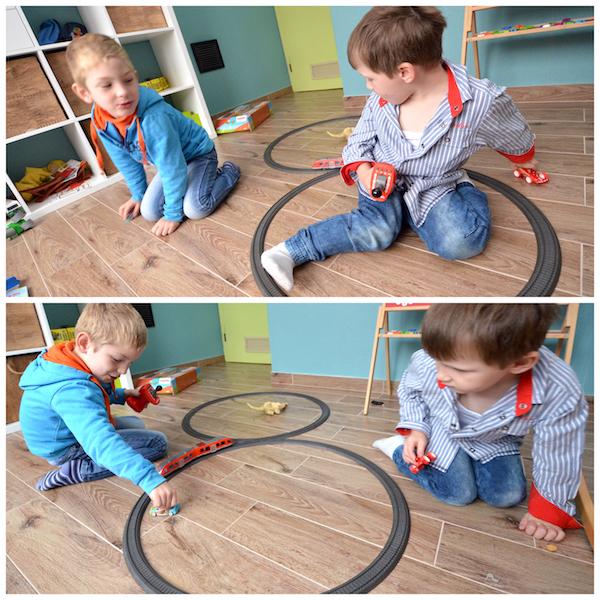 Kinderzimmer spielen Jungs