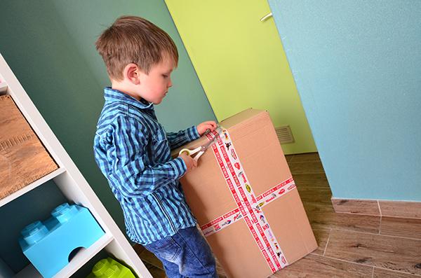 Paket öffnen