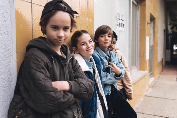 Maedchen Gruppe
