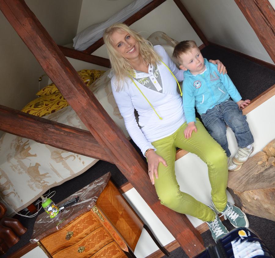 Elischeba und Leon in Dänemark