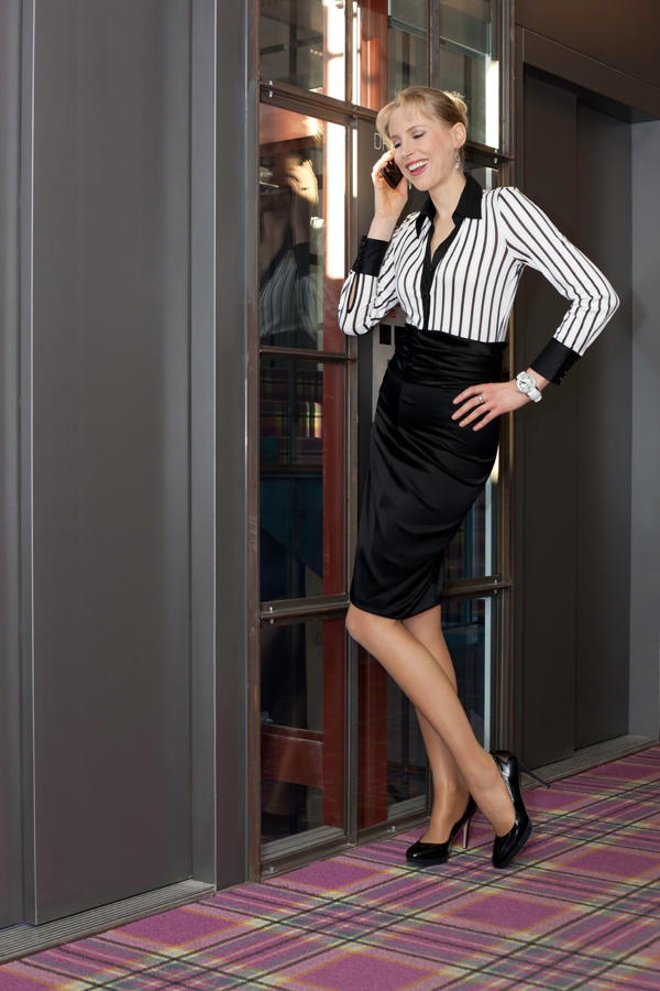 Elischeba - Business Lady im Hotel