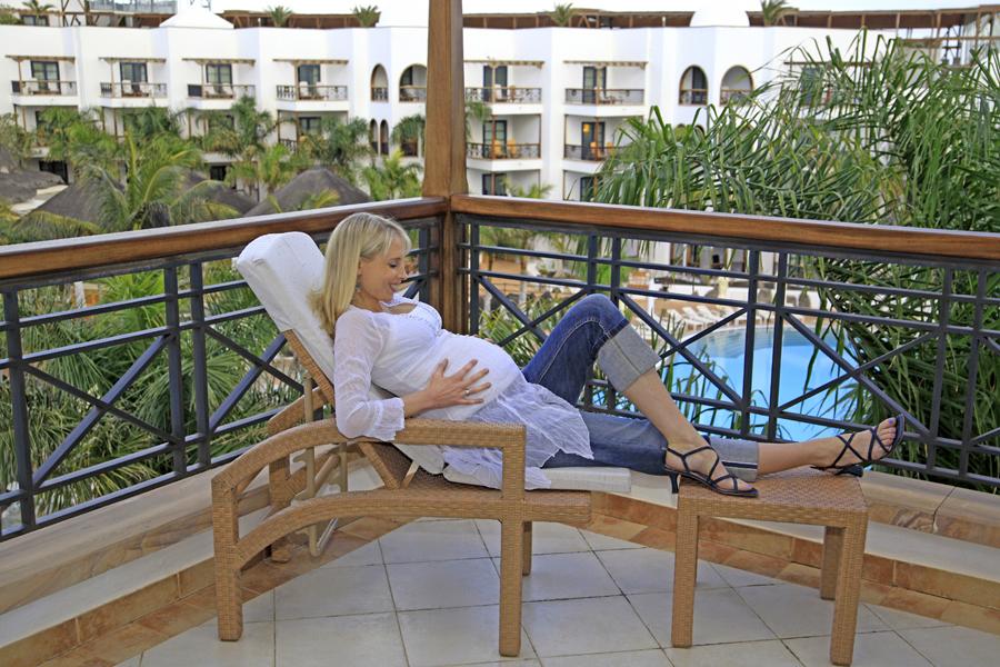 Elischeba Babybauch Lanzarote