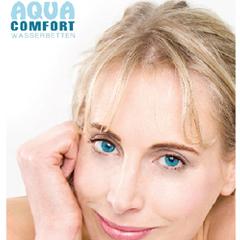 Elischeba Katalogmodel für die Werbekampagne von Aqua Comfort Wasserbetten