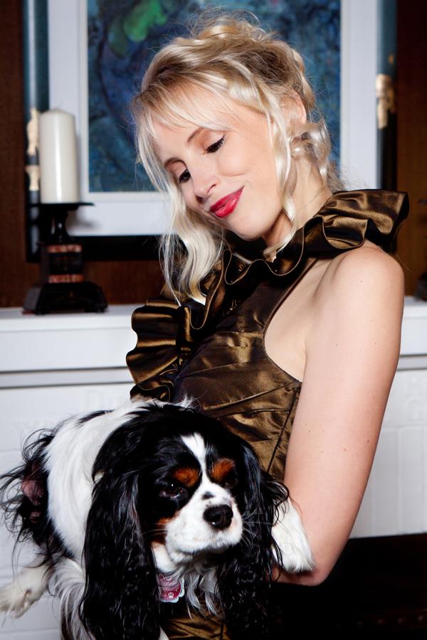 Elischebas Fashion Shooting mit Hund