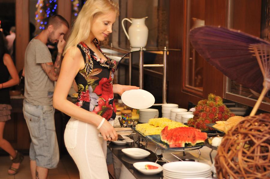 Elischeba Babybauch Anantara Resort Spa Buffet