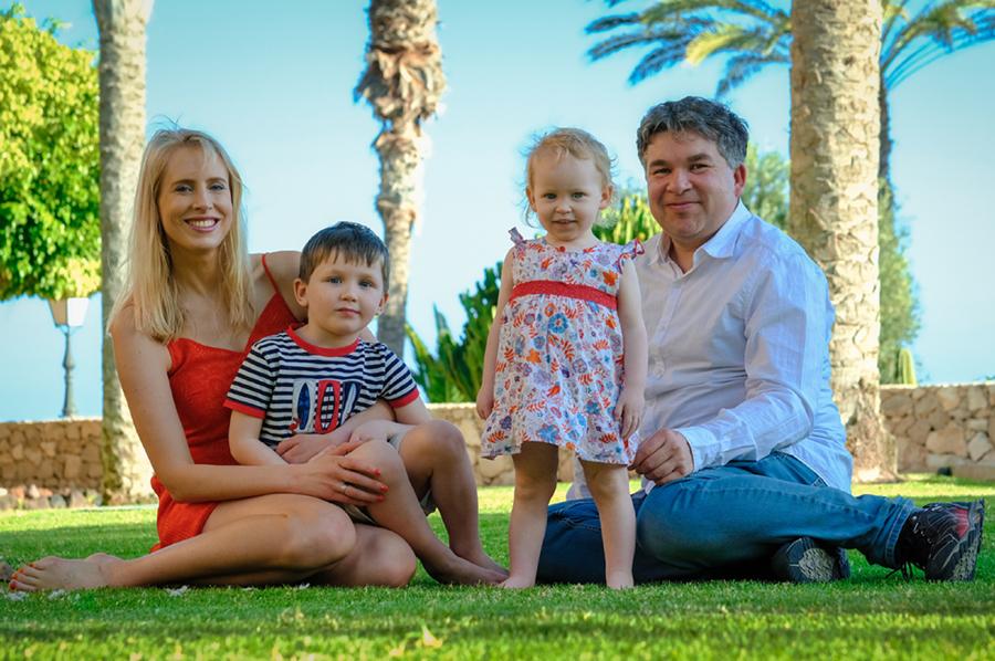 Familienshooting auf Fuerteventura