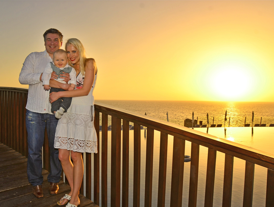 Familie Wilde 2013 auf Teneriffa
