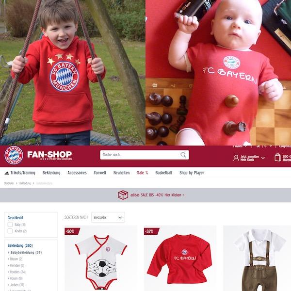 FC Bayern Fanshop Baby