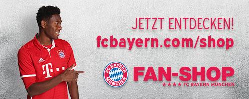 Gewinnspiel FC Bayern Fanshop