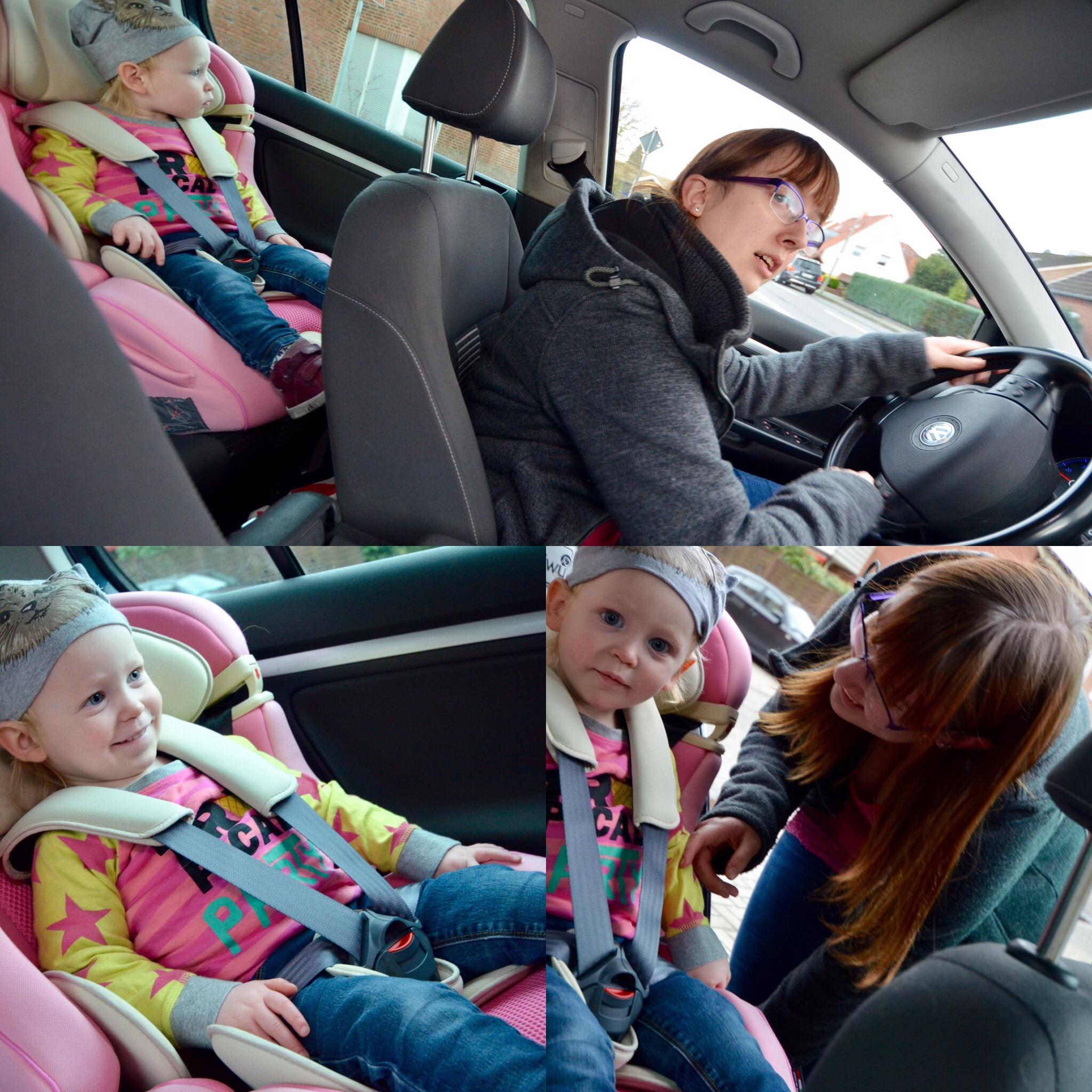 Kindergarten abholen Auto
