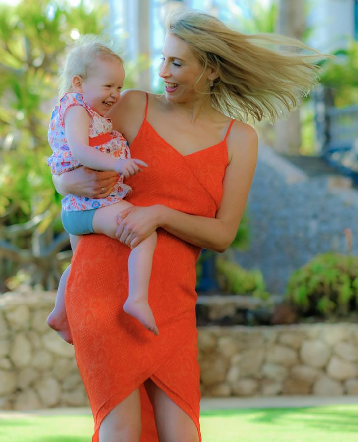 Elischeba mit Emily auf Fuerteventura