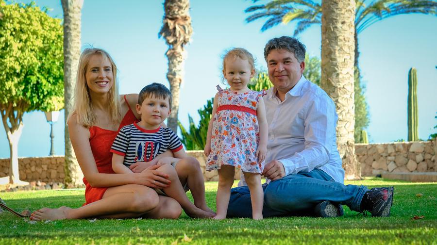 Family Wilde auf Fuerteventura