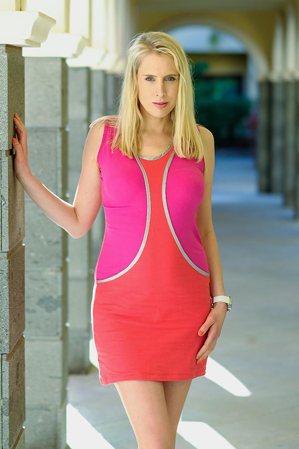 Fashionmodel Elischeba Wilde auf Fuerteventura