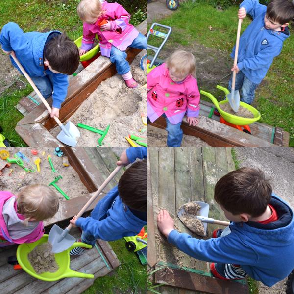 Gartenspielzeug für Kleinkinder