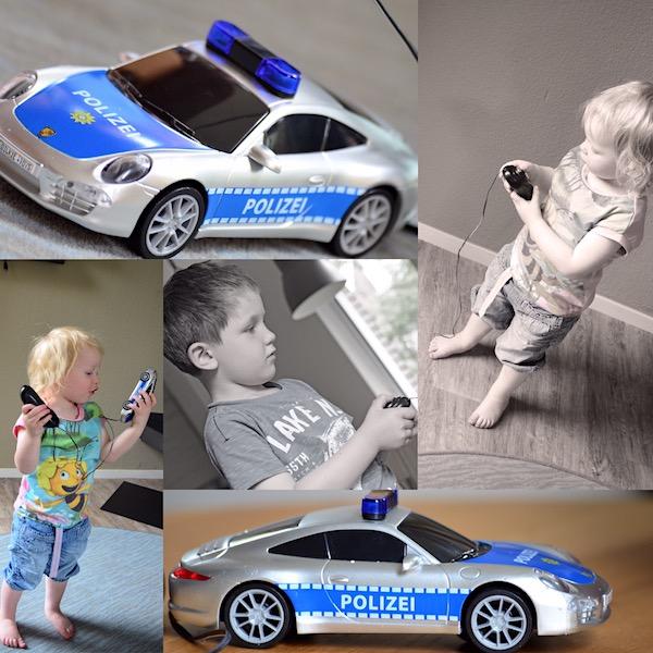 Gewinnspiel Porsche Polizeiauto