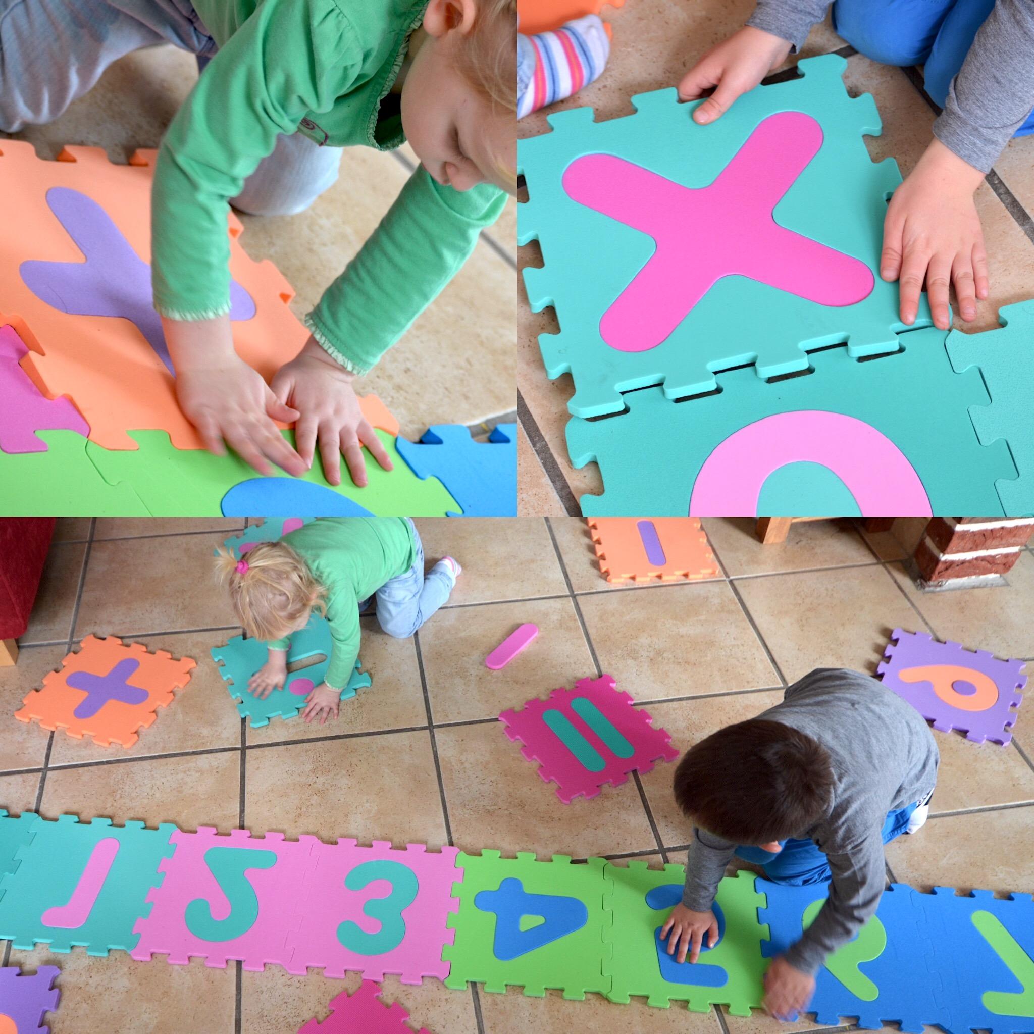 playshoes puzzlematte