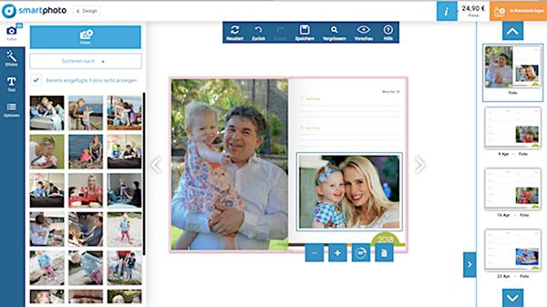 Screenshot smartphoto