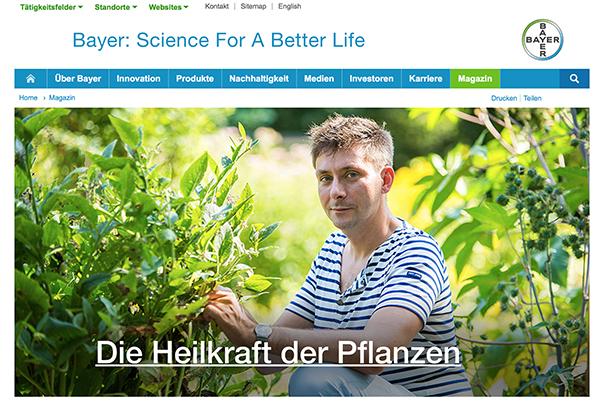 Heilpflanzen von Bayer und Tipps