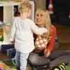 Elischeba mit Emily im Explorado Kindermuseum Duisburg